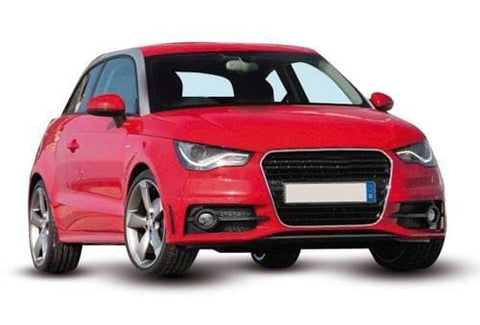 Audi A1 3 Door Hatchback 2010 To 2015 Front Bumper Grille With Lamp Hole Twin Slat Type With Chrome Trim Driver Side R