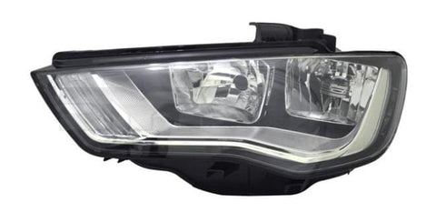 Audi A3 5 Door Hatchback  2012-2016 Headlamp Halogen Type Passenger Side L