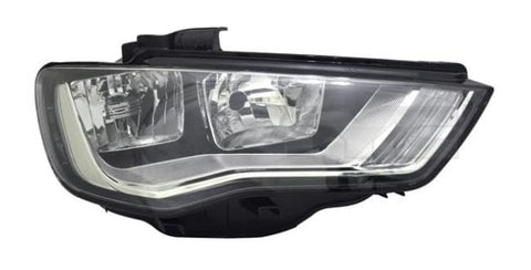 Audi A3 3 Door Hatchback  2012-2016 Headlamp Halogen Type Driver Side R