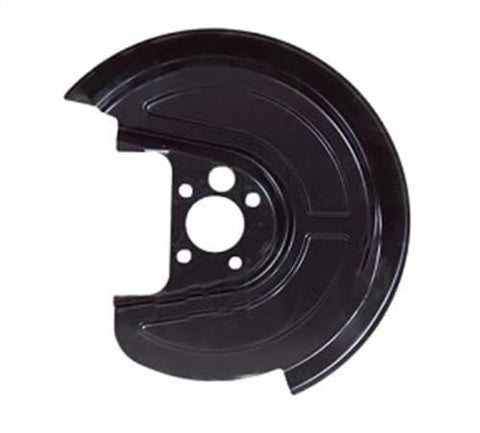 Volkswagen Beetle Hatchback 1999-2006 Brake Disc Dust Shield Back Plate - Rear Wheel (256mm) Passenger Side L