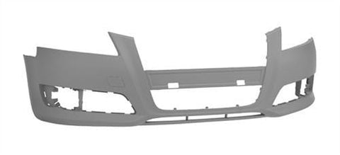 Audi A3 3 Door Hatchback  2008-2012 Front Bumper No Wash Jet or Sensor Holes - Primed (Standard Models)