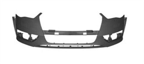 Audi A3 3 Door Hatchback  2012-2016 Front Bumper No Wash Jet or Sensor Holes - Primed (Standard Models)