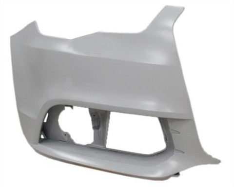 Audi A1 5 Door Hatchback  2012-2015 Front Bumper Corner No Wash Jet Holes - No Sensor Holes - Primed (Standard Models) Driver Side R