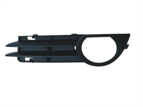 Audi A3 5 Door Hatchback  2004-2008 Front Bumper Grille Outer Section With Lamp Hole (Standard Models) Passenger Side L