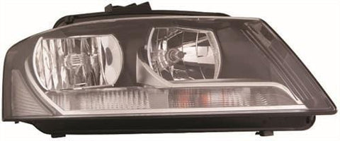Audi A3 3 Door Hatchback  2008-2012 Headlamp Halogen Type Driver Side R