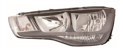 Audi A1 3 Door Hatchback  2010-2015 Headlamp Halogen Type Passenger Side L