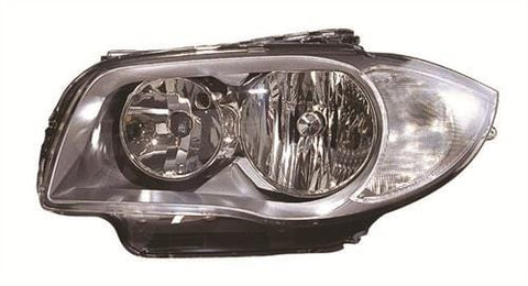 BMW 1 Series 3 Door Hatchback  2007-2011 Headlamp Halogen Type Passenger Side L