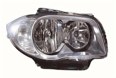 BMW 1 Series 3 Door Hatchback  2007-2011 Headlamp Halogen Type Driver Side R