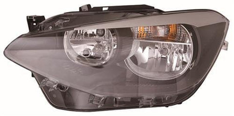 BMW 1 Series 3 Door Hatchback  2012-2015 Headlamp Halogen Type Passenger Side L