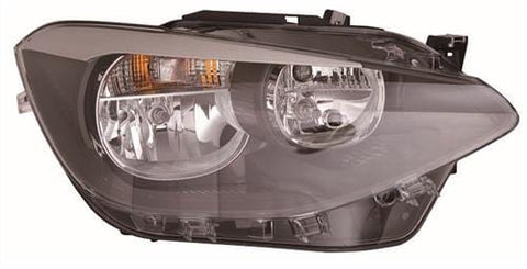 BMW 1 Series 3 Door Hatchback  2012-2015 Headlamp Halogen Type Driver Side R