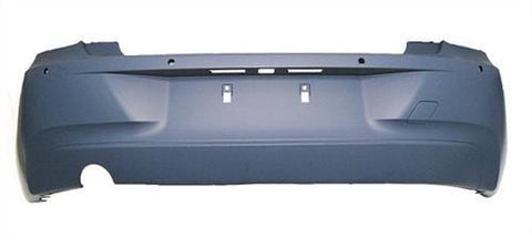 BMW 1 Series 3 Door Hatchback  2012-2015 Rear Bumper With Sensor Holes - Primed (Standard Models)