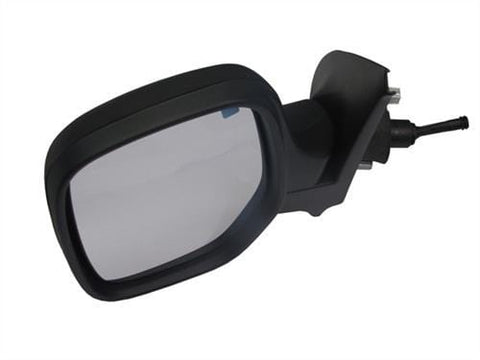 Citroen Berlingo Multispace MPV 2002-2008 Door Mirror Manual Not Heated Type With Black Cover Passenger Side L