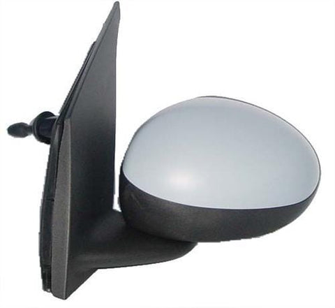 Peugeot 107 3 Door Hatchback  2009-2012 Door Mirror Manual Type With Primed Cover Passenger Side L