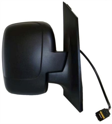 Fiat Scudo Van 2007-2016 Door Mirror Electric Heated Manual Fold Type With Black Cover (Single Glass) Driver Side R