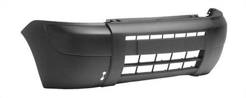 Citroen Berlingo Multispace MPV 2002-2008 Front Bumper No Lamp or Wash Jet Holes - Black