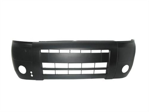 Citroen Berlingo Multispace MPV 2002-2008 Front Bumper With Lamp Holes - No Wash Jet Holes - Black