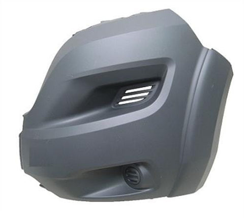 Peugeot Boxer Van 2014- Front Bumper Corner No Lamp Holes - Grey (With Wheel Arch Extension) Passenger Side L