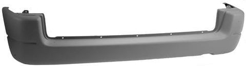 Peugeot Partner Combi/Tepee Combi/Tepee 2002-2008 Rear Bumper No Sensor Holes - Fully Primed (Without Chrome Trim)