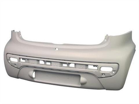 Peugeot 107 3 Door Hatchback  2005-2009 Rear Bumper Primed