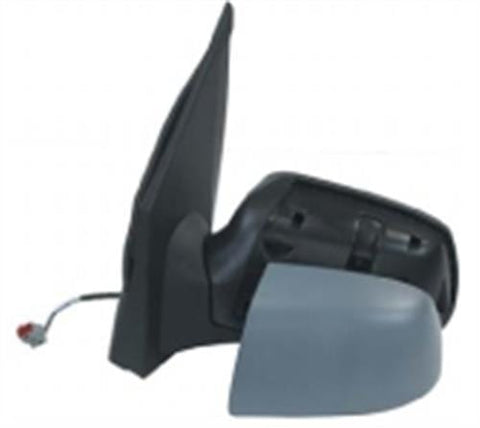 Ford Fiesta 3 Door Hatchback 2005-2008 Door Mirror Electric Heated Manual Fold Type With Primed Cover Passenger Side L