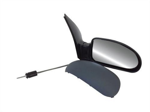 Ford Focus 3 Door Hatchback  1999-2001 Door Mirror Manual Type With Primed Cover Driver Side R