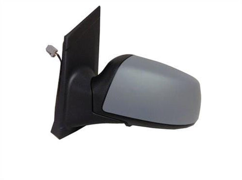 Ford Focus Saloon  2005-2007 Door Mirror Electric Heated Manual Fold Type With Primed Cover (No Lamps) Passenger Side L