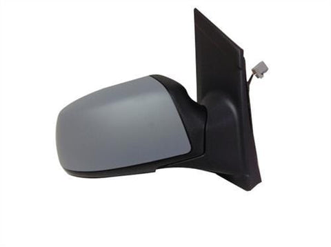 Ford Focus Saloon  2005-2007 Door Mirror Electric Heated Manual Fold Type With Primed Cover (No Lamps) Driver Side R