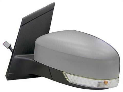 Ford Focus Estate  2008-2011 Door Mirror Electric Heated Type With Primed Cover (No Kerb Lamp) Passenger Side L
