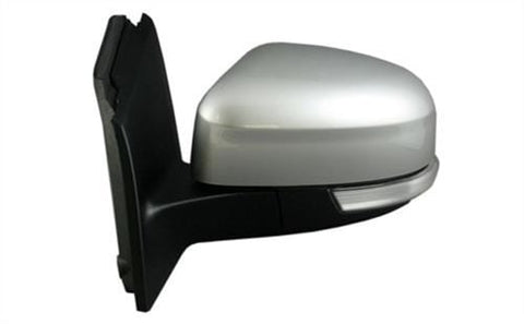Ford Focus 5 Door Hatchback  2011-2014 Door Mirror Electric Heated Power Fold Type With Primed Cover (With Foot Lamp) Passenger Side L