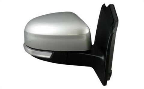 Ford Focus Estate  2014-  Door Mirror Electric Heated Power Fold Type With Primed Cover (With Foot Lamp) Driver Side R