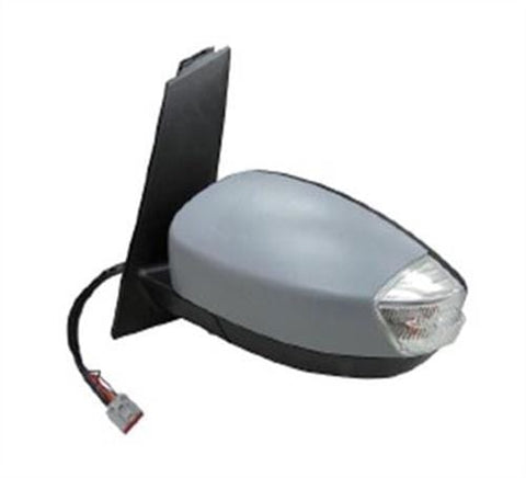 Ford C-Max MPV 2015-2019 Door Mirror Electric Heated Manual Fold Type With Primed Cover (No Foot Lamp or Lane Assist) Passenger Side L