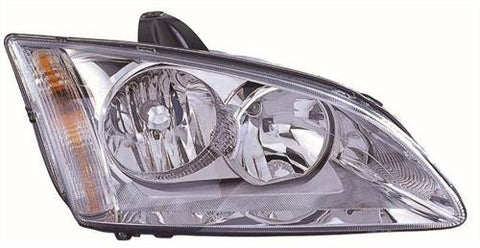 Ford Focus Estate  2005-2007 Headlamp Halogen Chrome Type (Not Cornering Type) Driver Side R