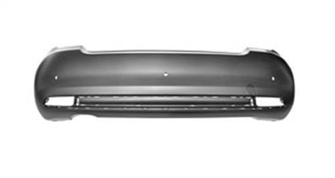 Fiat 500 Cabriolet 2015- Rear Bumper With Sensor Holes - Primed (Not S/Abarth Models)