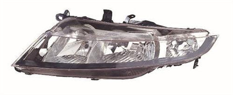 Honda Civic 3 Door Hatchback  2006-2012 Headlamp Halogen Type Passenger Side L