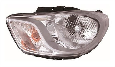 Hyundai I10 Hatchback 2011-2013 Headlamp  Passenger Side L