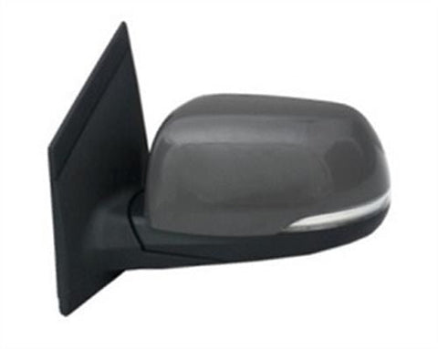 Kia Picanto 3 Door Hatchback  2011-2015 Door Mirror Electric Heated Power Fold Type With Primed Cover (With Repeater Lamp) Passenger Side L