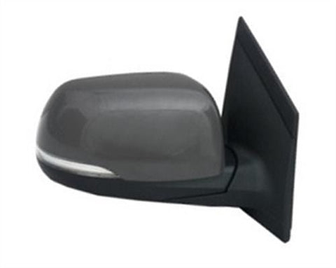 Kia Picanto 3 Door Hatchback  2011-2015 Door Mirror Electric Heated Power Fold Type With Primed Cover (With Repeater Lamp) Driver Side R