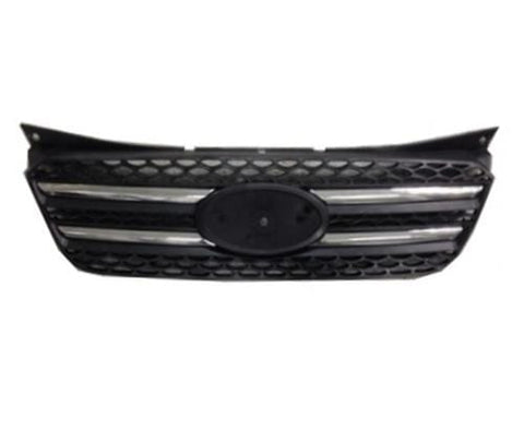 Kia Picanto 5 Door Hatchback  2007-2011 Front Grille With Chrome Moulding