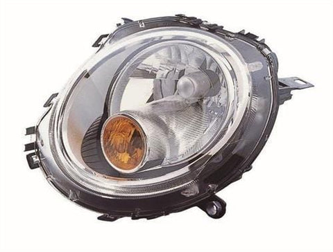 Mini - BMW Cabriolet - Cooper Cabriolet 2009-2010 Headlamp Halogen Type With Amber Indicator (Own Brand) Passenger Side L