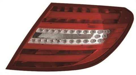 Mercedes C-Class Saloon 2011-2014 Rear Lamp  Driver Side R