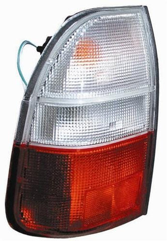 Mitsubishi L200 Pick Up 2000-2006 Rear Lamp Clear & Red Passenger Side L