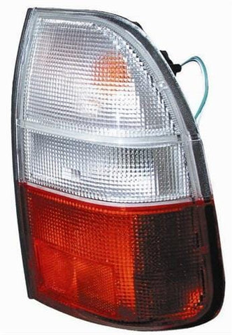 Mitsubishi L200 Pick Up 2000-2006 Rear Lamp Clear & Red Driver Side R