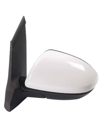 Mazda 2 3 Door Hatchback  2008-2010 Door Mirror Electric Not Heated Manual Fold Type With Primed Cover Passenger Side L