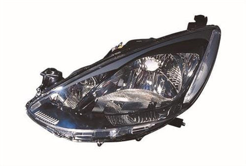 Mazda 2 5 Door Hatchback  2010-2015 Headlamp (Single Reflector Type) Passenger Side L
