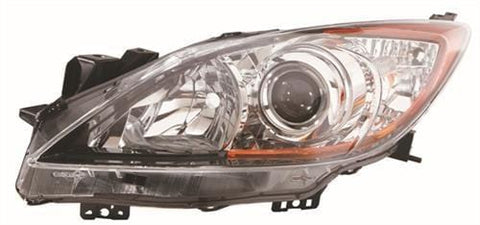 Mazda 3 Saloon  2009-2010 Headlamp Halogen Type Passenger Side L