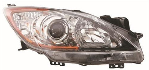 Mazda 3 Hatchback  2009-2012 Headlamp Halogen Type Driver Side R