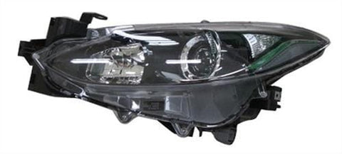 Mazda 3 Saloon  2014-2016 Headlamp Halogen Type Passenger Side L