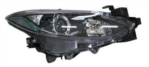 Mazda 3 Saloon  2014-2016 Headlamp Halogen Type Driver Side R