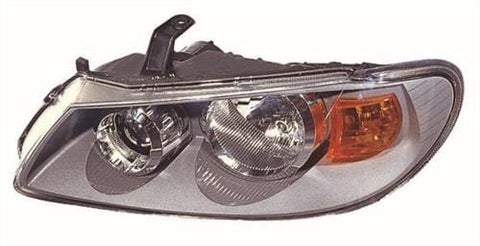 Nissan Almera Saloon 2003-2006 Headlamp Grey Type (Standard Models) Passenger Side L