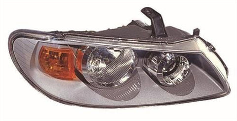 Nissan Almera 3 Door Hatchback 2003-2006 Headlamp Grey Type (Standard Models) Driver Side R